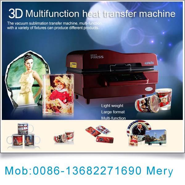 3d sublimation vacuum heat press machine price