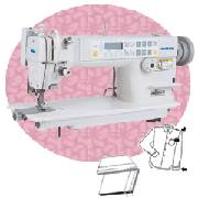 single needle industrial sewing machines