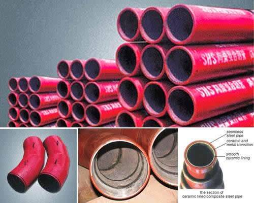 SHS Ceramic Composite Pipe