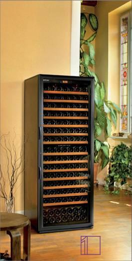 Wine cooler 168 bottles dual temparture zone