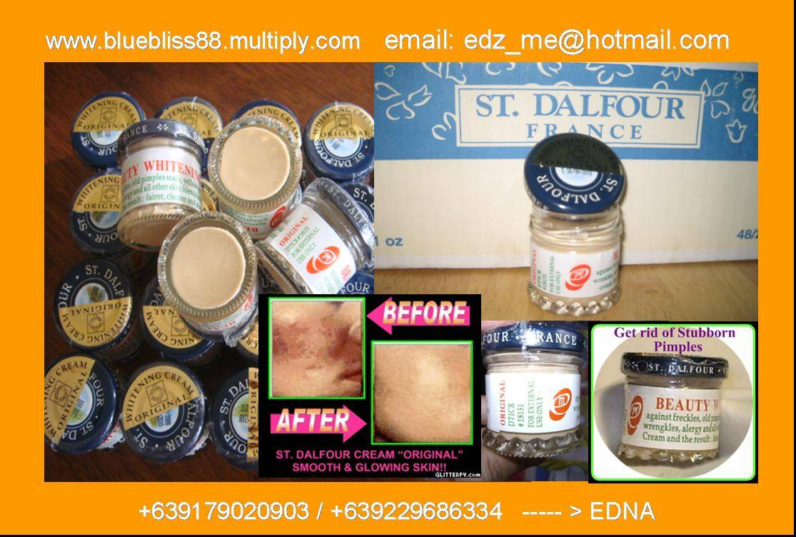 St. Dalfour Cream  - original  (gold cap)