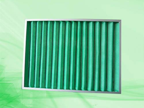Washable pre-filter, plank filter, panel filter, filter pad