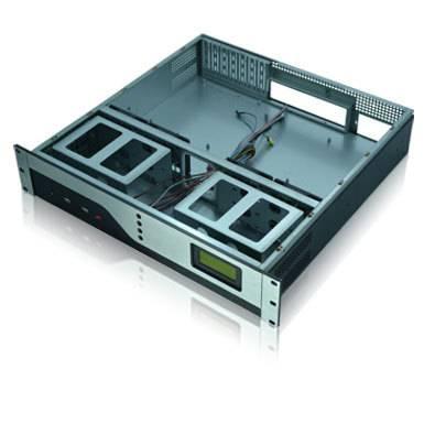 2u rackmount micro atx nas server case