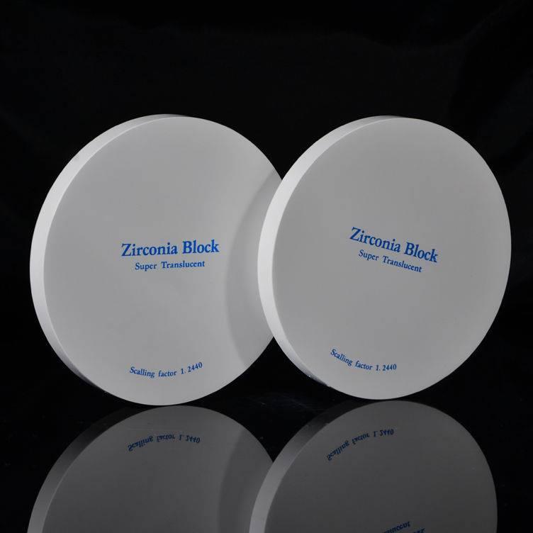 denal zirconia block