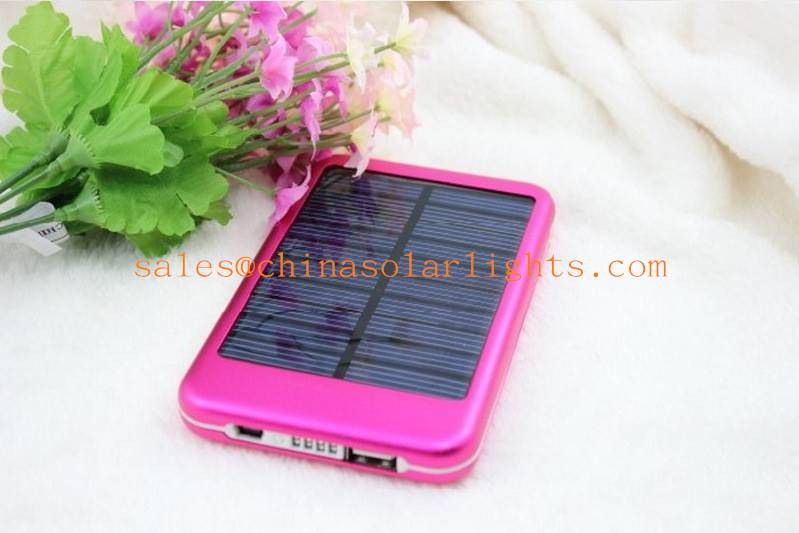 Portable solar energy charger P6000T