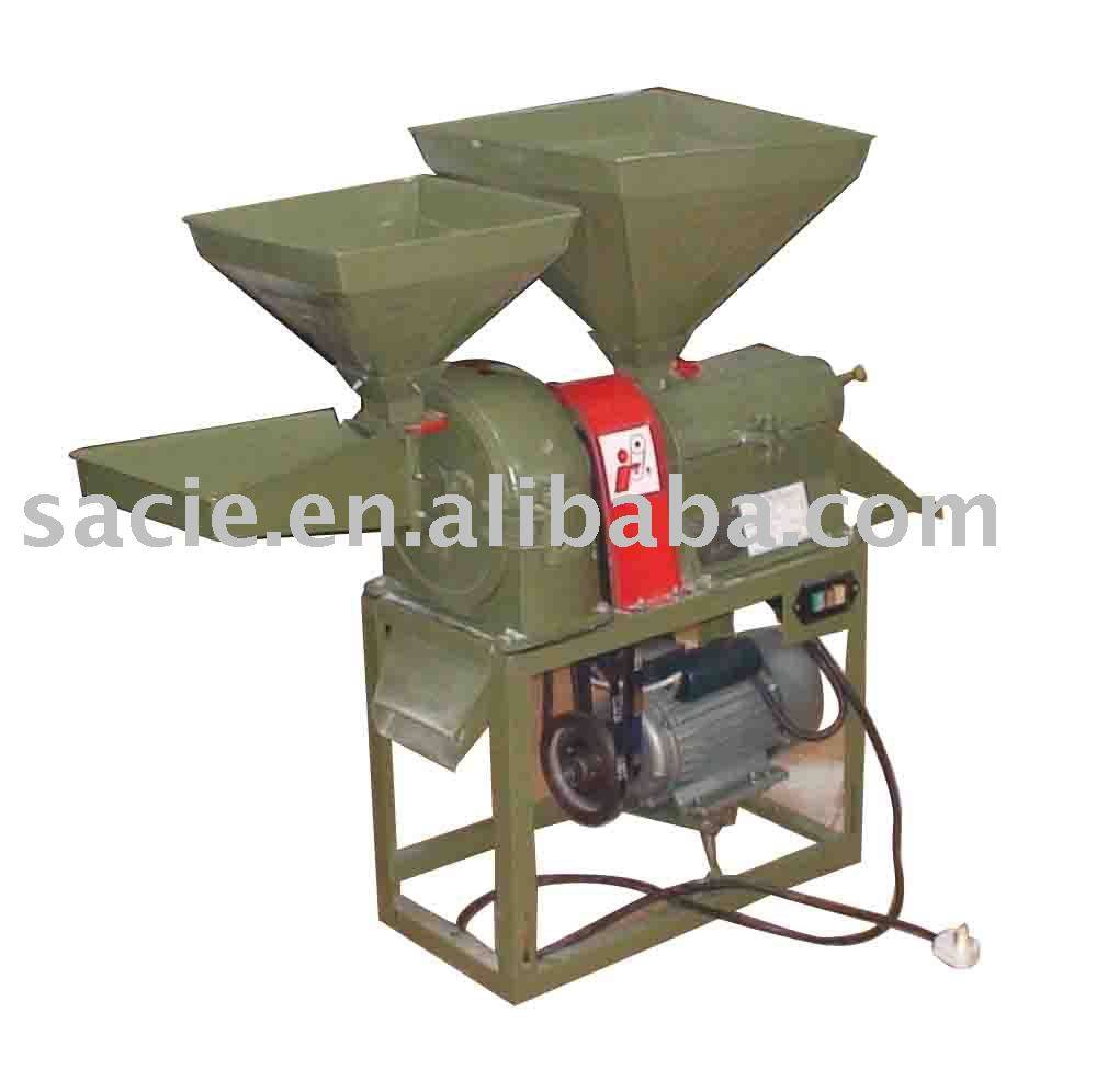 Big Rice Mill and Flour Crush Combine Machine