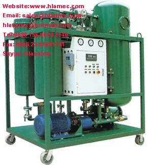 Vacuum Turbine Oil Filter Machine
