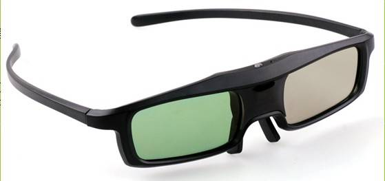 active shutter glasses ,3d tv glasses ,dlp 3d glasses ,pc 3d glasses