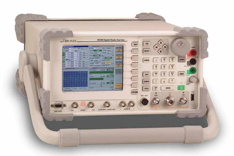 Aeroflex 3920B Series Analog and Digital Radio Test Platform