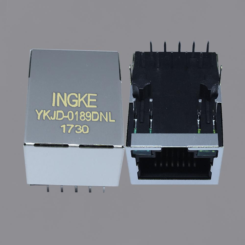 Ingke YKJD-0189DNL 100% cross 7499210121A POE RJ45 Modular Jack Connectors