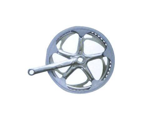 bicycle parts chainwheel and cranks
