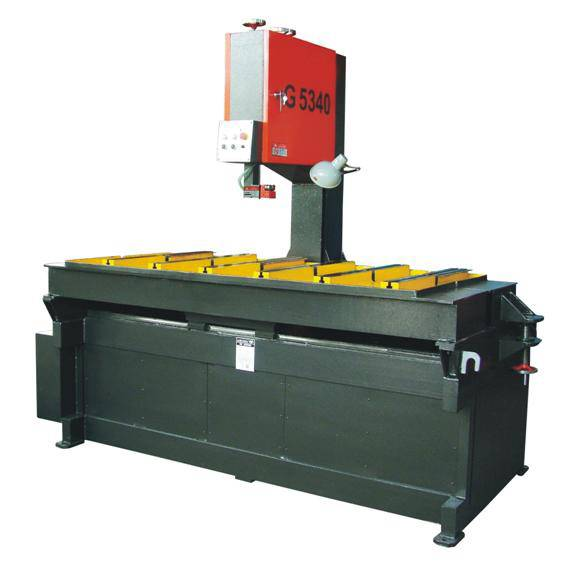 Vertical Band Saw Machine G5340-40-100 for cutting metal