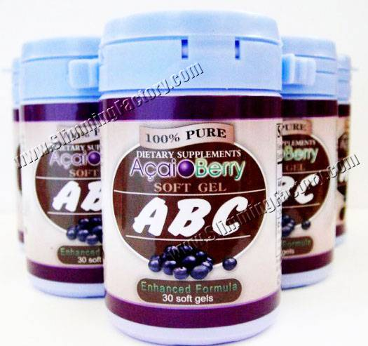 2012 New Loss Weight Product -- ABC Acai Berry Soft gel
