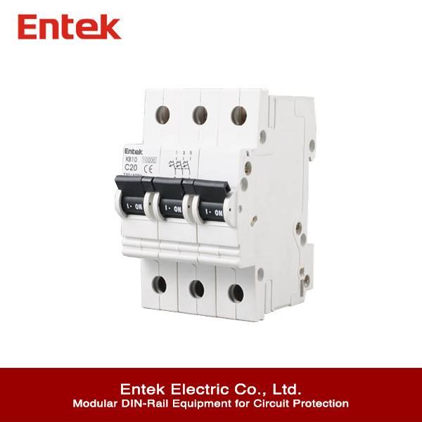 3P 6kA CB Miniature Circuit Breaker (MCB)