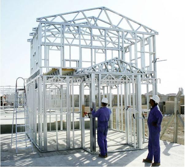 light gauge steel frame prefabricated house