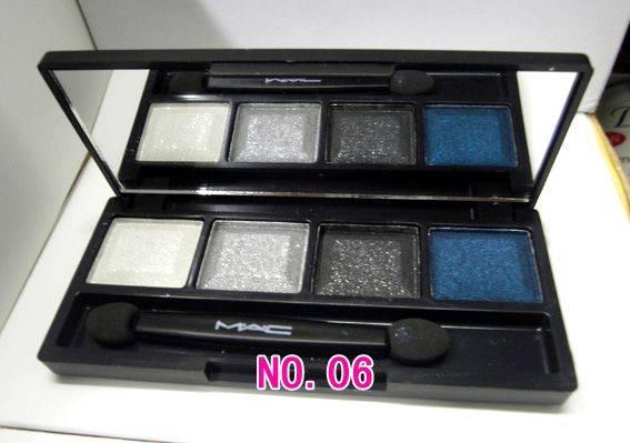 beauty colors MAC  4 colors eyeshadow