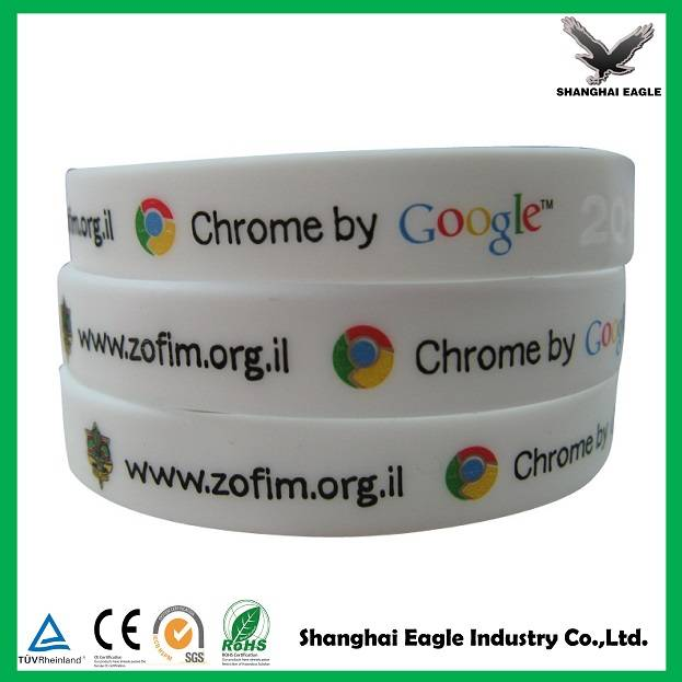 High quality wrist band, Promotional silicone wristband, Silicone bracelet