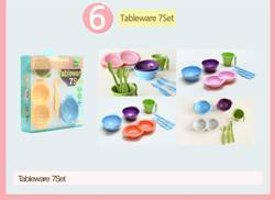 BIO-PE 100% eco-friendly sugarcane tableware and Baby Set