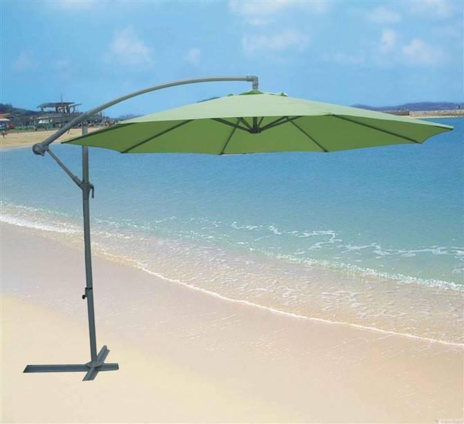 Cantilever Parasol (banana handing umbrella)