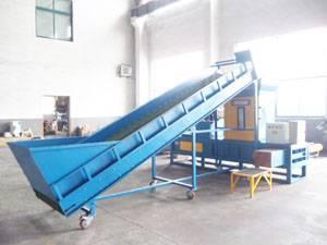 Sawdust Baler Machine