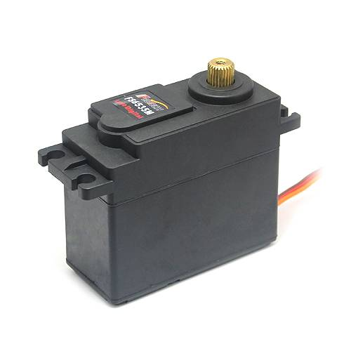 High torque large scale 35kg torque servo for 1 5 car