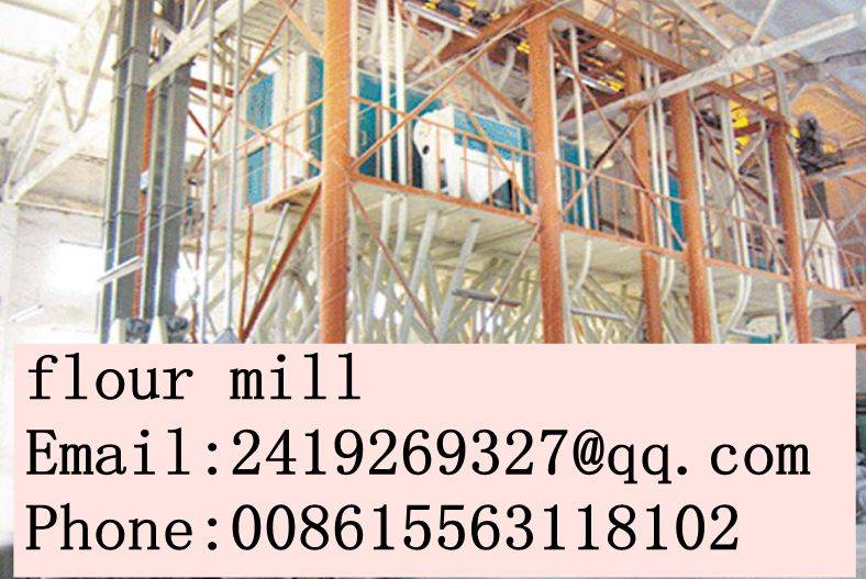 wheat flour machinery