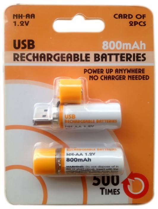 AA USB Cell,USB Rechargeable Battery,USB Battery,Rechargeable USB Battery, USB AA Cell