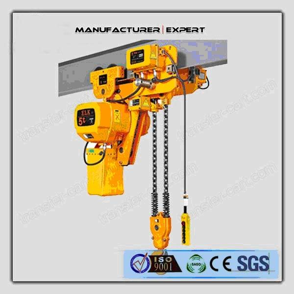 We can supply the electric chain hoist