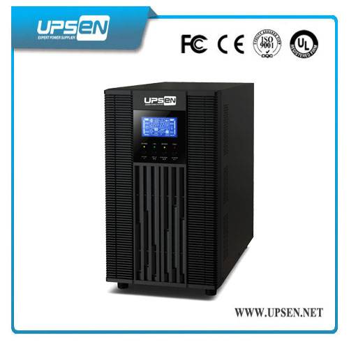 Portable 1 Phase 220Vac 50Hz Double Conversion Online UPS 1000VA / 2000VA / 3000VA