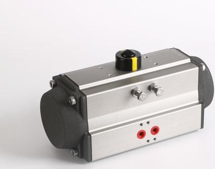 Pneumatic actuator single action