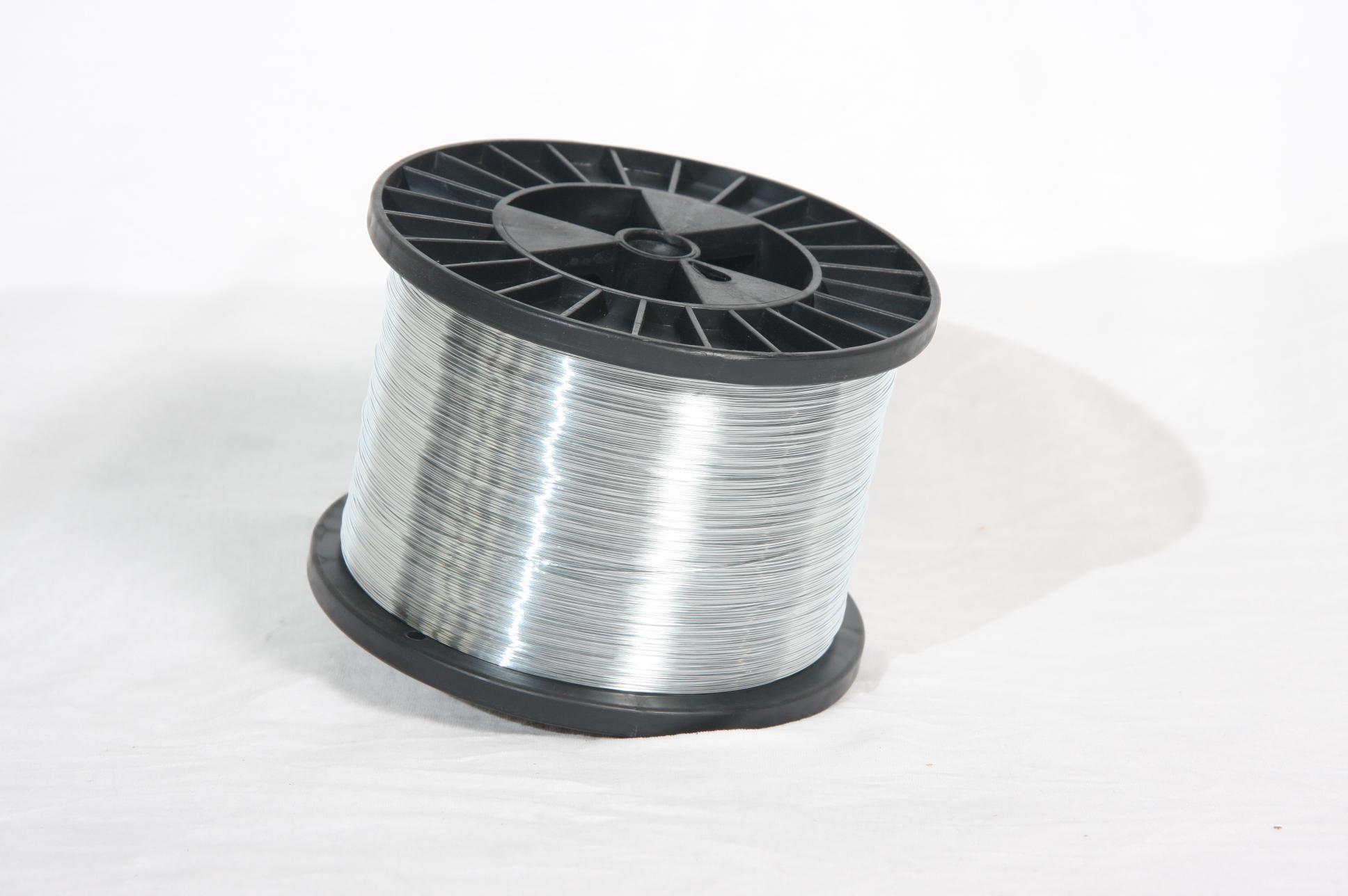 galvanised round book binding stitching wire