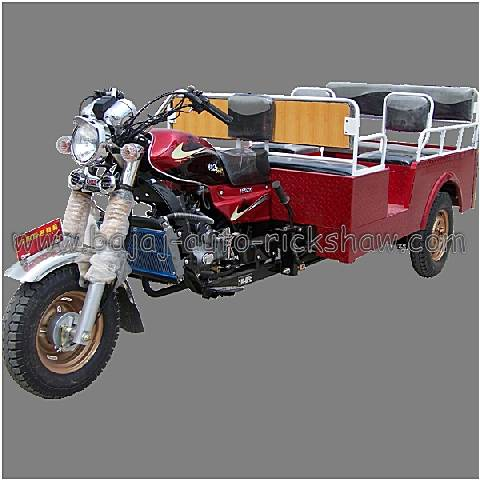 Bajaj Auto Rickshaw 200cc water-cooled 6 passengers tricycle carrier BA200ZK-A