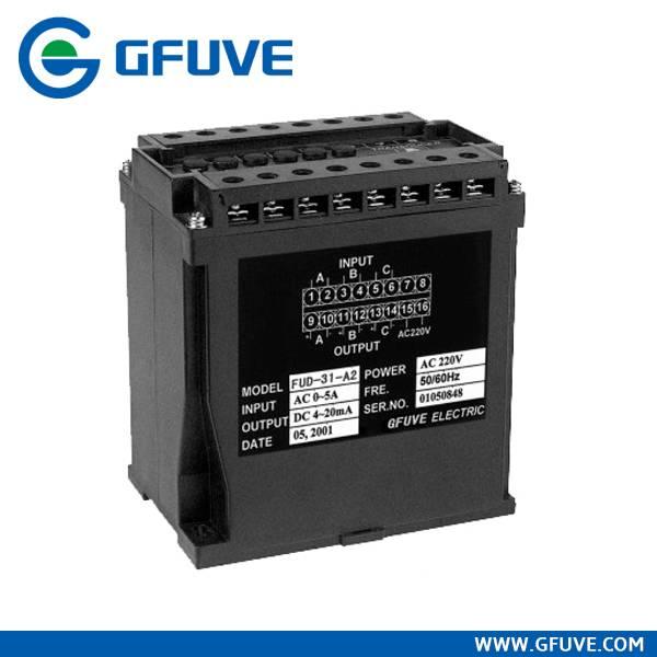 FUD-3I-3U three phase AC current voltage transducer