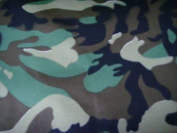 printed cotton twill fabric