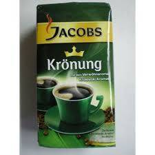 Jacobs Kronung Ground coffee 250g and 500g
