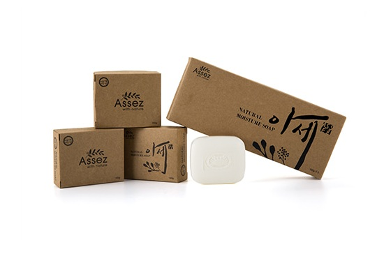 Assez Chitosan soap for face and body cleansing