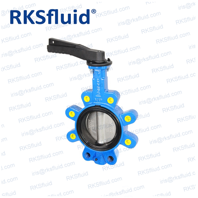 Steel disc good sealing performance central butterfly valve