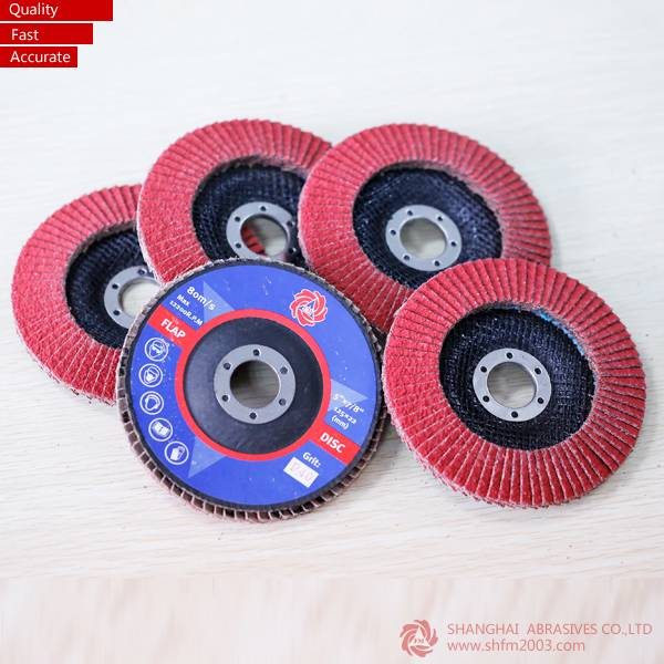 Ceramic Flap Discs With Fiber Glass Backing(100% Cermic)