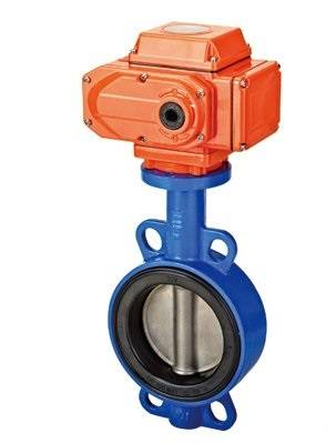 Electrical Wafer Butterfly Valve