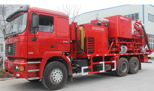 Shacman Oilfield Cementing Truck