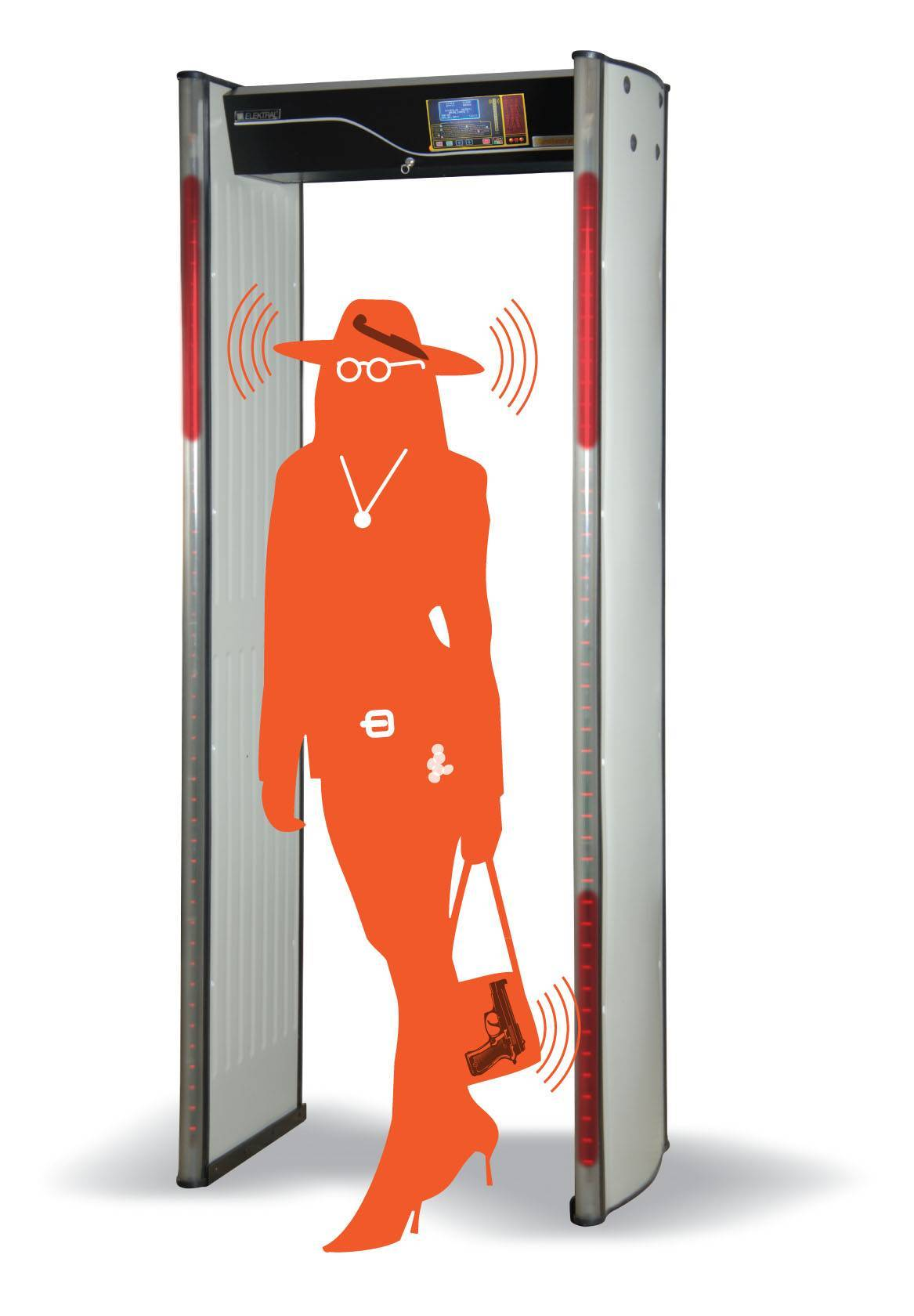 Metal Detectors, Walk Through Metal Detectors, Security products, safety products