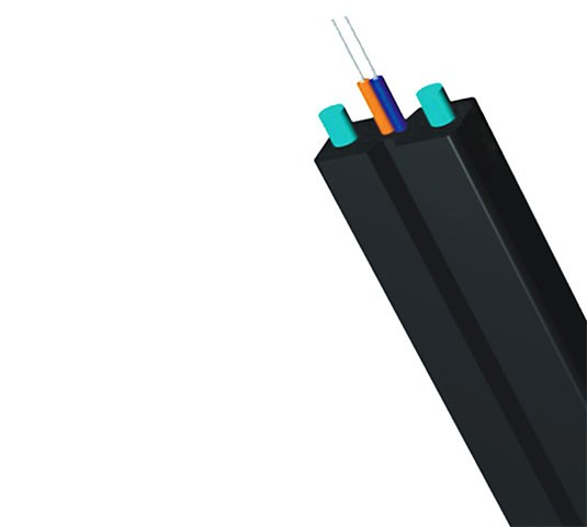 Bow-type FTTH Drop Fiber Cable