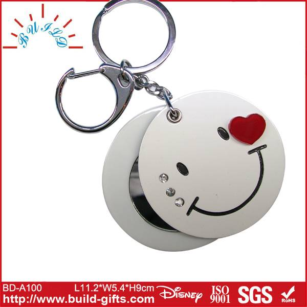 top grade acrylic key chain simile shaped acrylic key chain