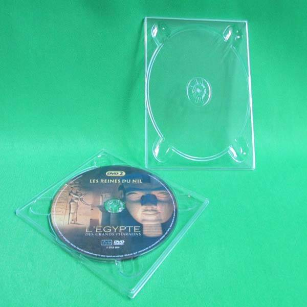 high quality ps clear single cd digi tray