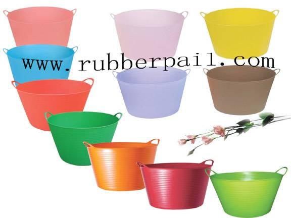 flexible buckets,garden tools,plastic pails,garden tubs,plastic containers
