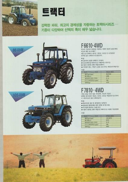 used Ford tractors