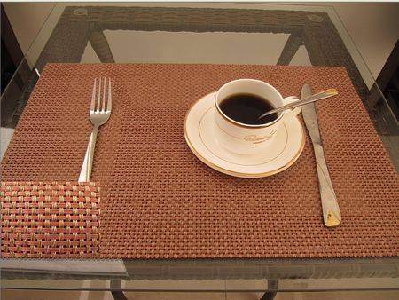 PVC coated coffee mat / table mat/ placemat