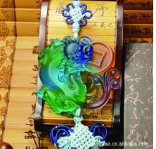 feng shui car crystal ornaments--chinese dragon-Pixiu
