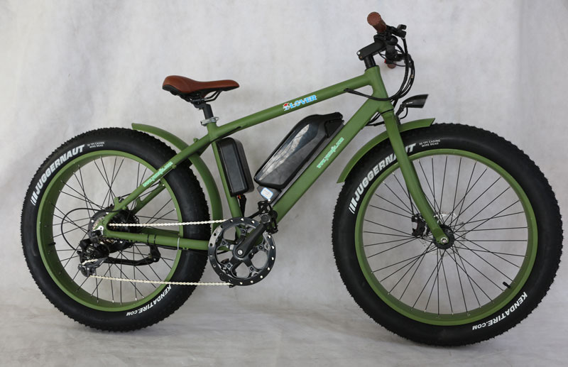 brand new aluminium mountain electric bike