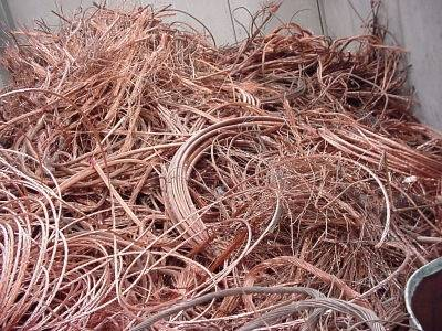 Supply of copper in waste and cathodes